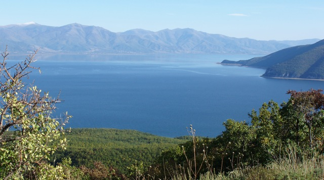 Lake Prespa Panorama facing east