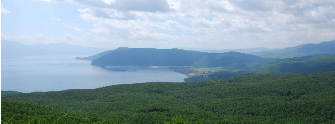 Lake Prespa Panorama