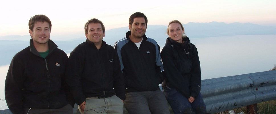 Prespa Field Team 2009