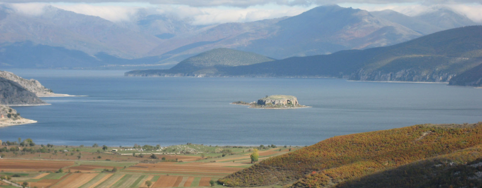 Prespa panorama facing north